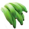 Banana Verde (Kg) - orgânico