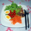 Salada Pronta Caponata (300g) - insumos orgânicos