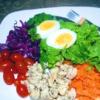Salada Pronta Fit - (300g)   insumos orgânicos