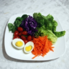 Salada Pronta Vegetariana (350g) - insumos orgânicos